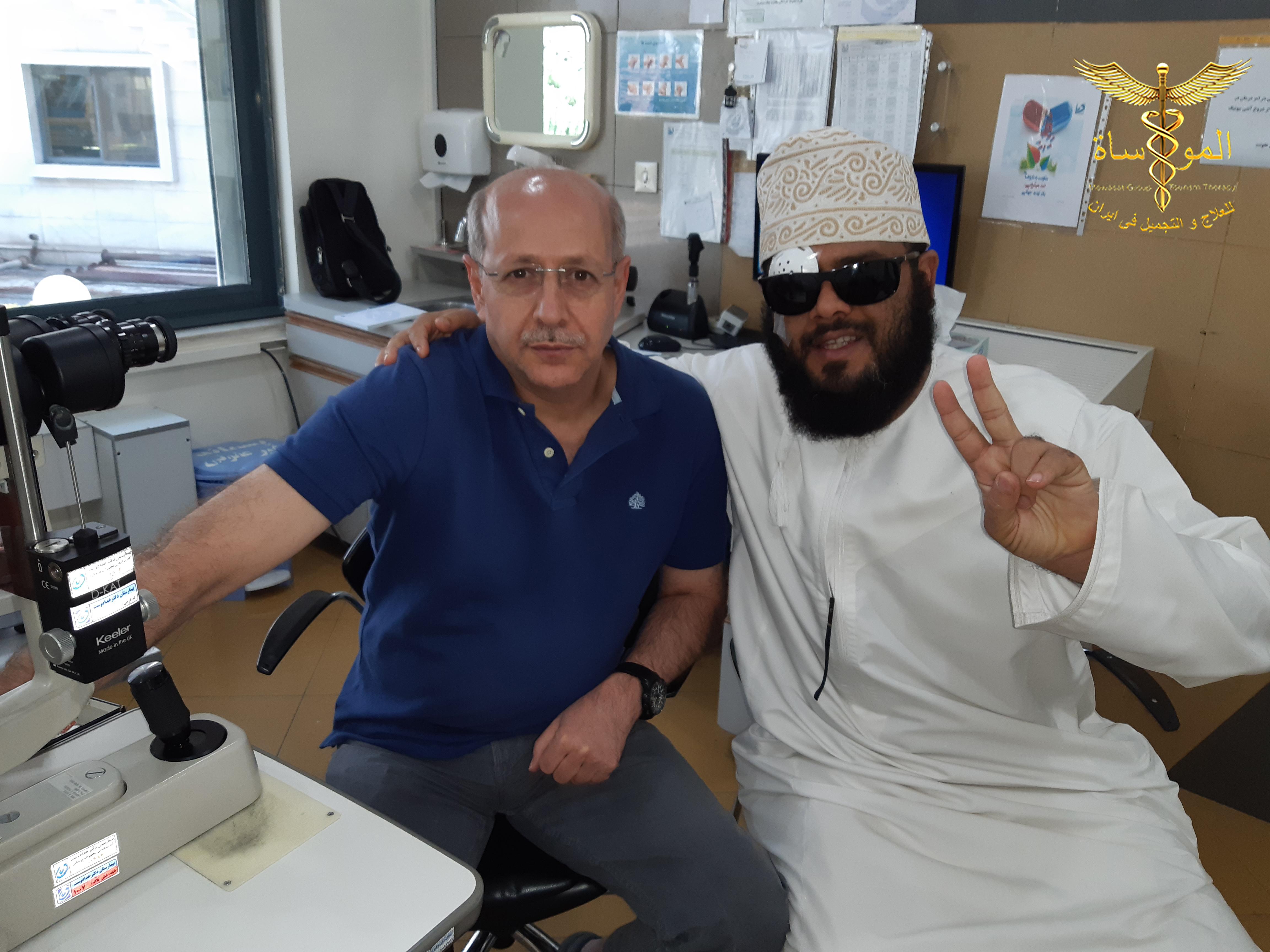 طب العيون في إيران   مستشفى خدادوست